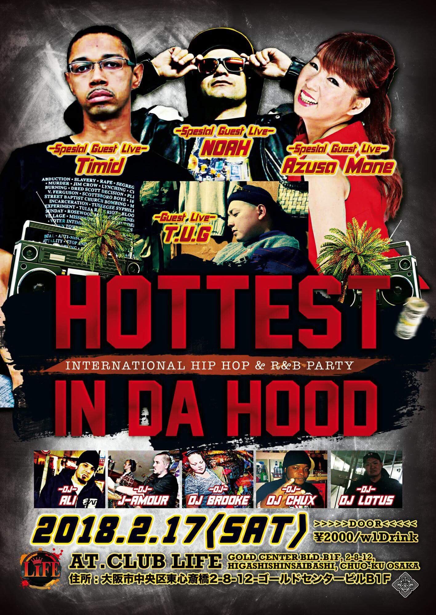 Timid Osaka Club Life Hip Hop