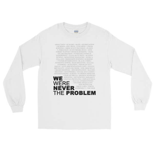 We Were Never The Problem